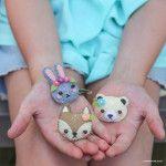 Filz Eulen Stuffie (ein einfaches Handwerk für Erwachsene und Kinder