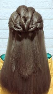 Frisuren-Tutorial 854, #schöne Frisuren für die Hochzeit #Frisuren-Tutorial –  Frisuren-Tutorial 854,  #beautifulhairstylesforweddinghairdos #Frisur…