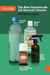 Diy Thieves Spray The Best All Natural Cleaner Mama Natural