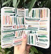 DIY Cuadernos Boccaccini Meadows — 🌿#color #jungle #greens #color #palette #artwork...
