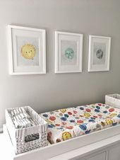 Outer Space Baby Nursery Reveal! – Nursery