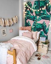Dusty Rose Chloe Medaillon Bettbezug und Sham Set – Twin XL