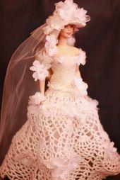 robe de marie de poupe poupe robe de marie par fashione4doll