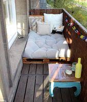 Top 30 Palette Ideen zu DIY Möbelstück für jedes Ihr Zuhause – Balcony Gestaltung