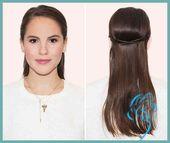 Frischer Look in 5 Minuten: 6 Notfall-Frisuren für ungewaschene Haare | Damen Frisuren –  – #Kurzhaarfrisuren