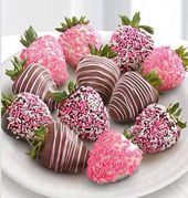 Shari's Berries™ Limited Edition Chocolate Dipped A Baby Girl! Strawberries – 12pc