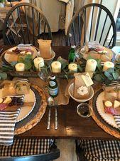 Ideen für eine einfache und schöne Dinnerparty. Einfache Tabelle scape Ideen, italienisch …   – •entertaining ideas•