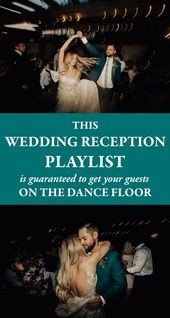 This Wedding Reception Playlist is Guaranteed to G…