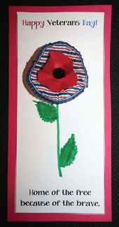 Veterans Day Crafts and Activities