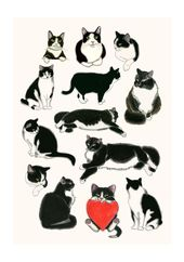 I Heart Tuxedo Cats! (matouenpeluche)