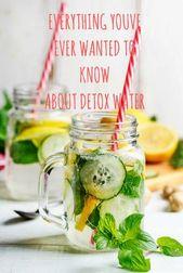 Detox-Wasser, die wirklichen Vorteile jenseits des Gewichtsverlusts   – Healthy Recipes
