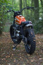 Honda CM250 Scrambler von Max Inhulsen – Motorrad – # CM250 #Honda #Inchulsen …   – Classic Bikes