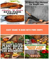 This easy shake'N bake keto pork chop recipe is a copycat from everyones childho…