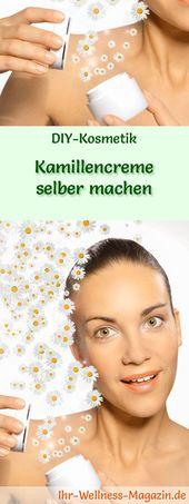 Kamillencreme selber machen – Rezept und Anleitung