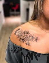 Tattoo Sunflower Collar Bone Quotes 22 Trendy Ideas