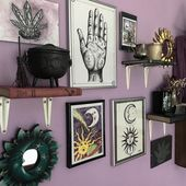 29 Best Diy Witchy Apartment Ideas To Get A Differing Look – Page 27 of 30