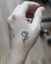 ▷ 1001 + ideas and inspiring pictures about rose tattoo