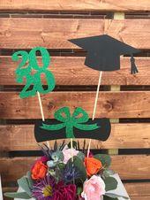 Graduation party decorations 2020, Graduation Centerpiece Sticks, Grad ,Cap ,Diploma , class of 2020, Graduation Decoration ideas, prom 2020