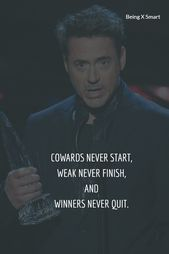 Robert John Downey Jr.Quotes for succes |confidence | and life.