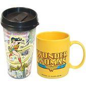 70a96d5a98f Wonder Woman Travel Mug 12Oz. - Mothers Day: Tabletop - Events |  Celebrities | Mugs, Wonder woman, Travel mug