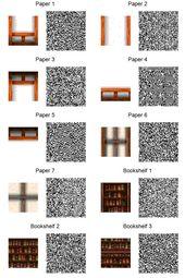 Acnl Paper Walls And Bookshelves By Frootzcat Code Wallpaper Acnl Qr Codes Acnl