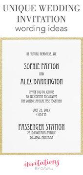 17 schöne Ehe Einladung kreative Karte Fotos   – Invitation Card