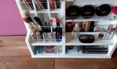 Organisator-Formular. Nagellack Lagerung. Make-up-Anzeige. Schönheitsstation. Au …   – Beauty