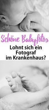 """Babyfotos im Krankenhaus: """"Lohnt sich ein Fotograf?"""""""