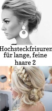 #fine #frisurfestlich #fur #haare #hochsteckfrisuren – –