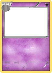 Bw Psychic Stage 1 Pokemon Card Blank By The Ketchi Kids Parties Blank Bw Card Kids Parties Pokemon Psychic Stage Theketchi
