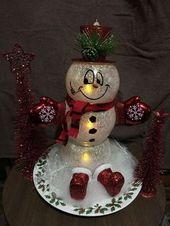 Ivy Bowl Snowman