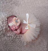 Neue süße Neugeborene Mädchen Kleidung Rock Set Neugeborene …   – Neugeborene