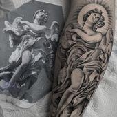Habe diese Tage zu einer guten Nacht gemacht! #tattoo #tattoostyle #tattooist #tatto …