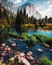 Die schönsten Plätze im Yosemite National Park