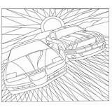 Knight Rider Colouring Pages