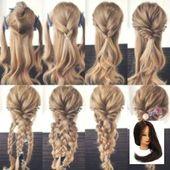 #boho Hairstyle #cabelo #cabelos #CacheadosPenteado #CrespoCabelo
