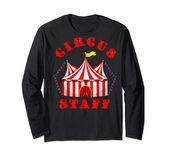 Circus Themed Birthday Party T – Event Staff  Long Sleeve