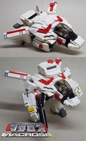 LEGO MACROSS PLANE – # FLUGZEUG #LEGO #MACROSS   – lego avengers