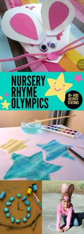 How to Host Your Own Nursery Rhyme Olympics – Bloggers' Fun Family Projects