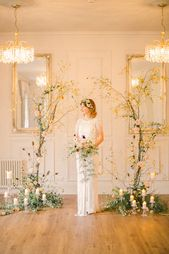 Beautiful Fine Art Country House Wedding Ideas – wedding flowers