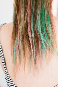 How-to: Hair Chalk f