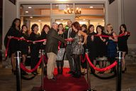 Our ribbon cutting c