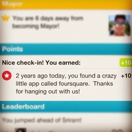 Foursquare - Shows a