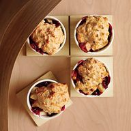 Pear-Cranberry Cobbl