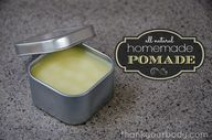 Homemade Pomade: All