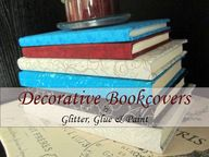 decorative book cove
