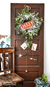 From faux garland to