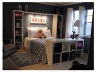 IKEA hack bookcase f