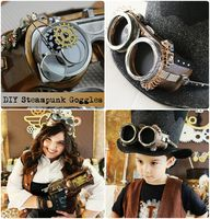 DIY Steampunk Goggle