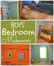 Boys Bedroom Makeove